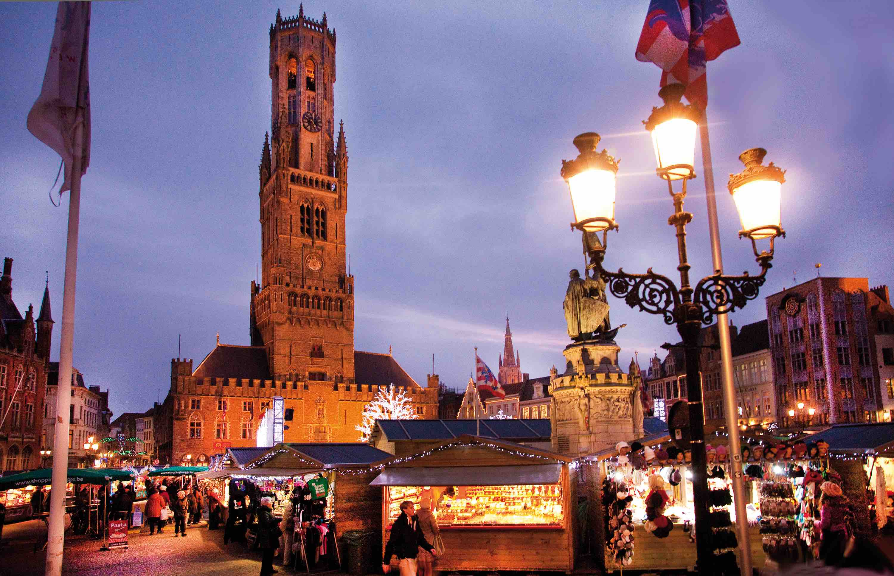 19 Photos To Make You Fall In Love With Bruges' Winter Charm