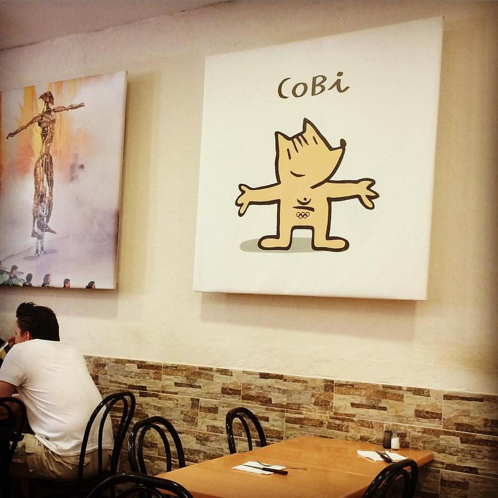 Cobi, Barcelona Olympic Games mascot  ©Daniel García Peris / Flikr