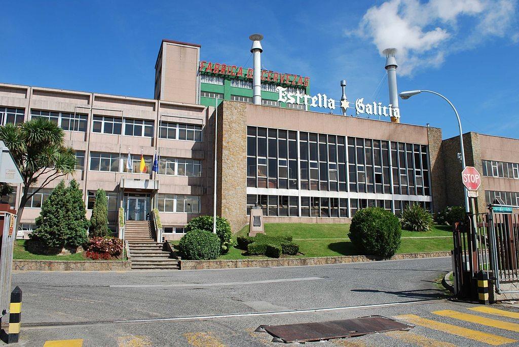 Estrella Galicia brewery A Coruña | ©Nemigo / Wikimedia Commons