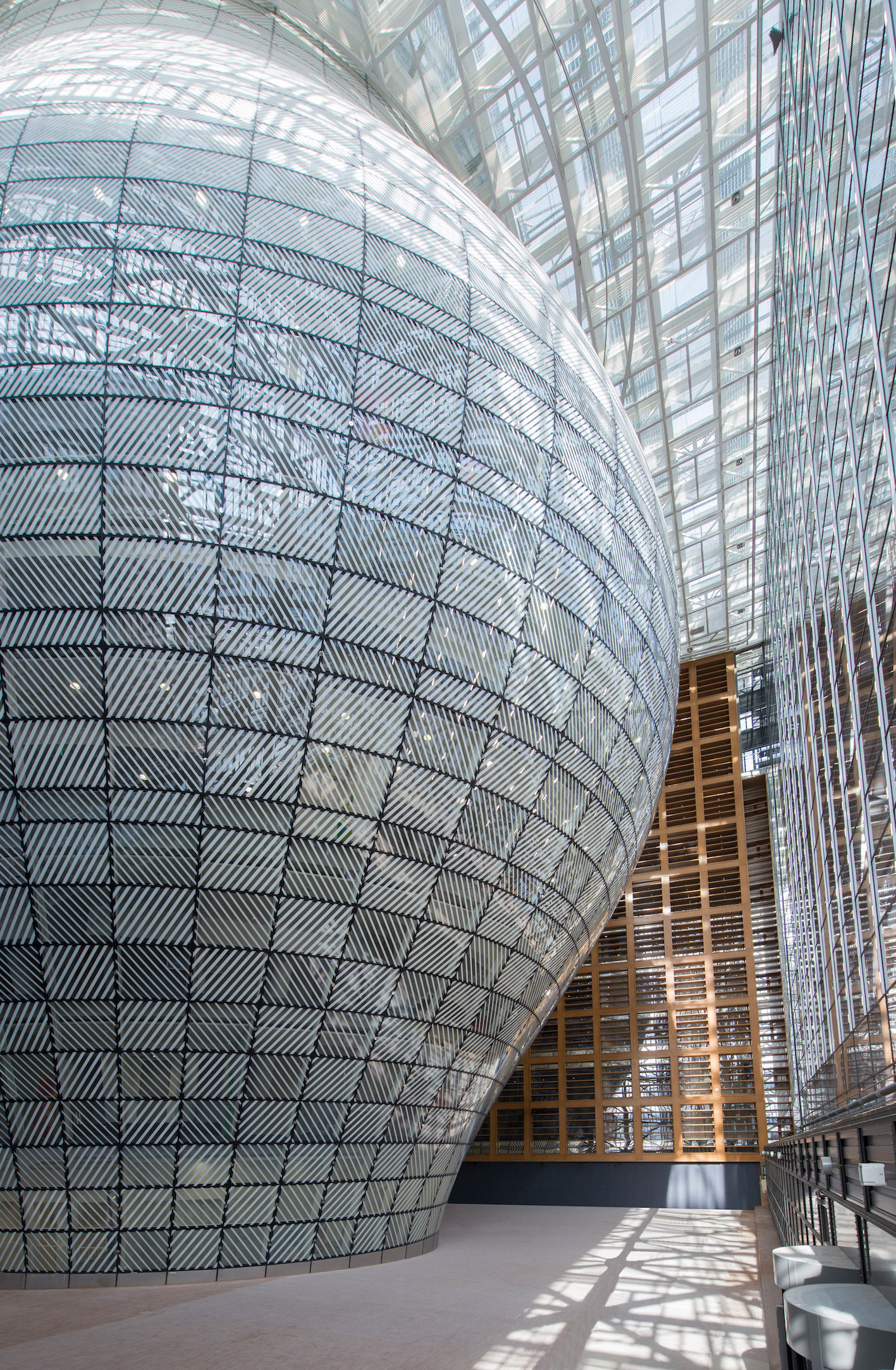 This Unusual New Eu Building Has A Beacon Of Light At Its