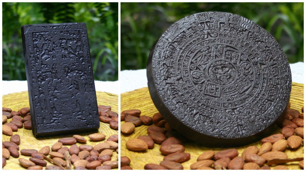 Aztec inspired bars of chocolate | © Motivos Prehispánicos