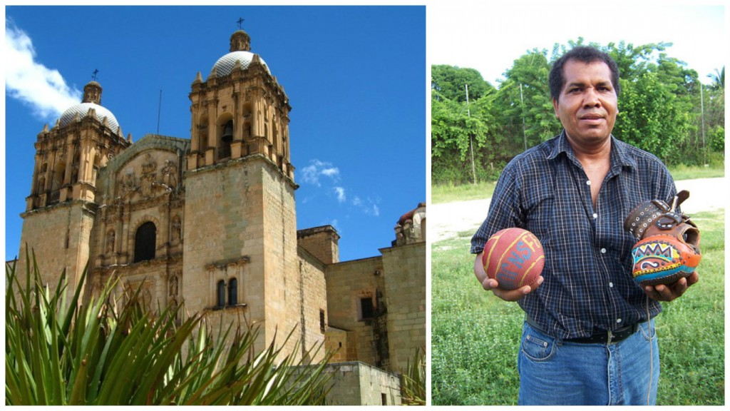 Oaxaca, where the game continues to be played | © Lorena/Flickr / Pelota Mixteca ball and glove | © Scott Kraft/Flickr
