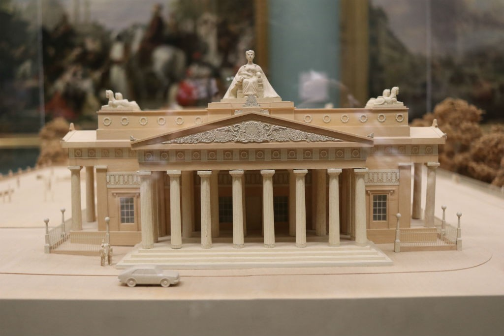 Scottish National Gallery Model | Courtesy Of Tori Chalmers