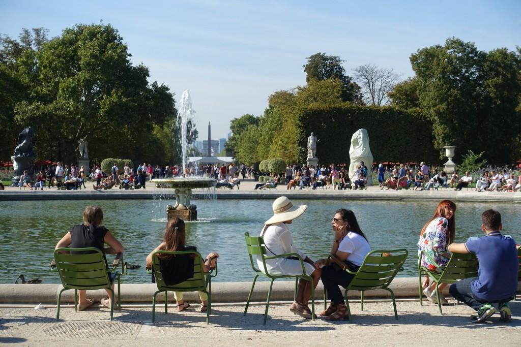 Jardin des Tuileries │© Guilhem Vellut