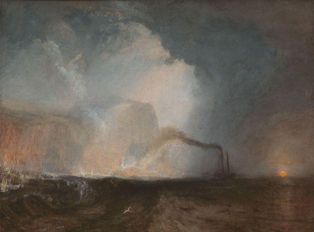 Staffa, Fingal's Cave By Joseph Mallord Turner   WikiCommons