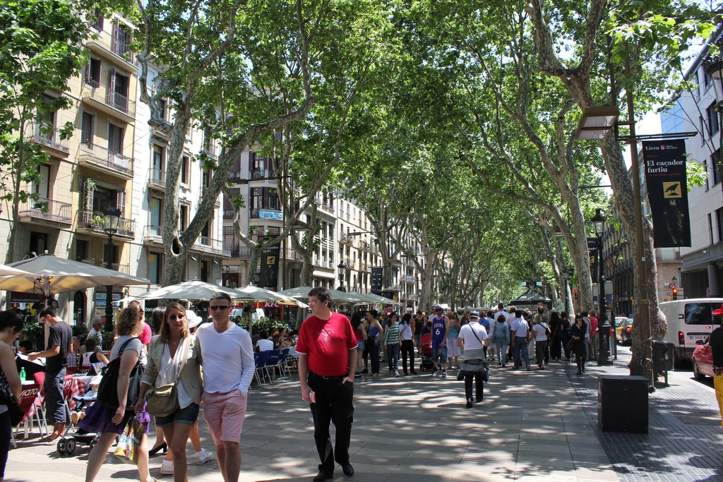 La Rambla, Barcelona | ©Mathieu Marquer / Flikr