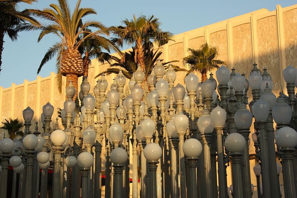 Chris Burden, 'Urban Light', 2008  ©LACMA / WikiCommons