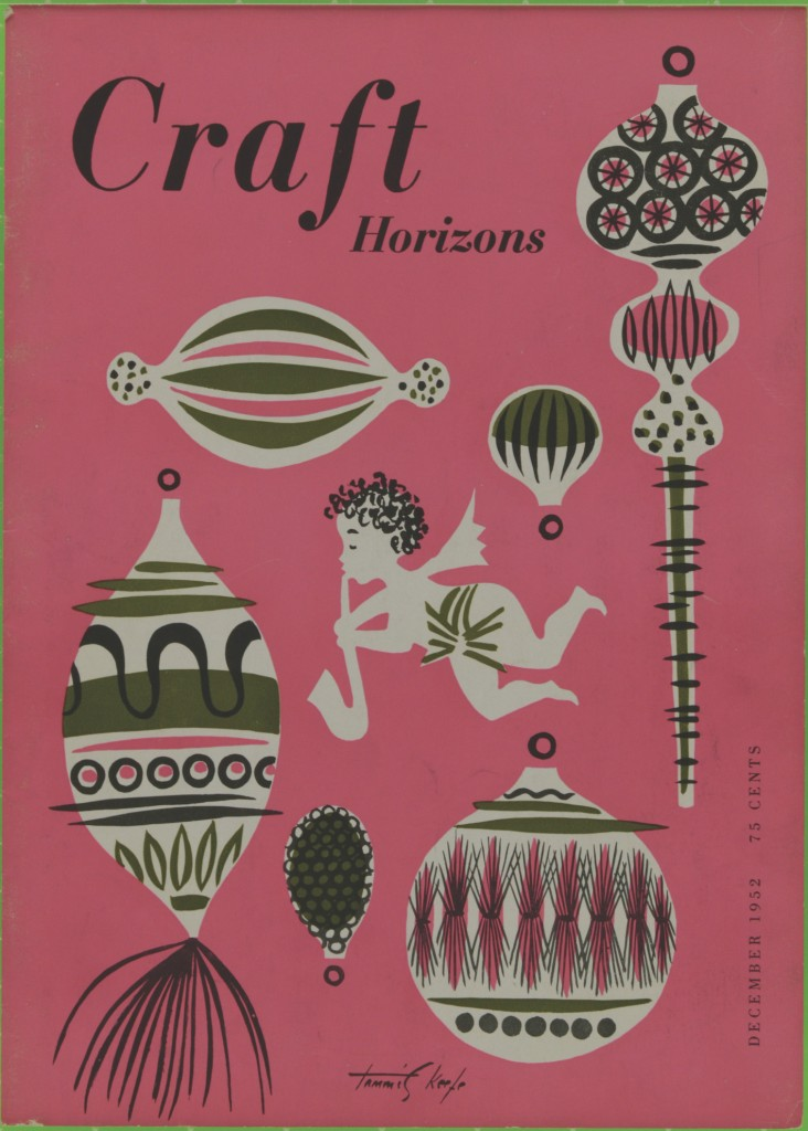 Craft Horizons, December 1952 | Courtesy of American Craft Council