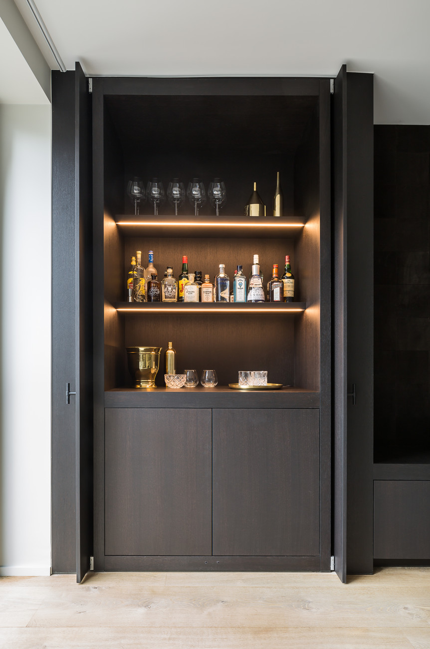 These home cocktail bar ideas are perfect for the party season for Mini bar de salon