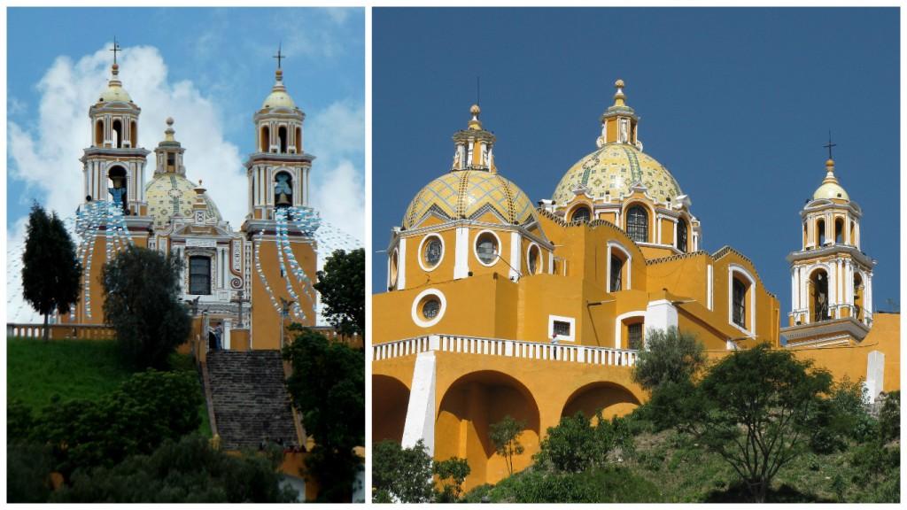 Iglesia de Los Remedios, Cholula | © Luis Romero/Flickr / © Gerardo Noriega/WikiCommons