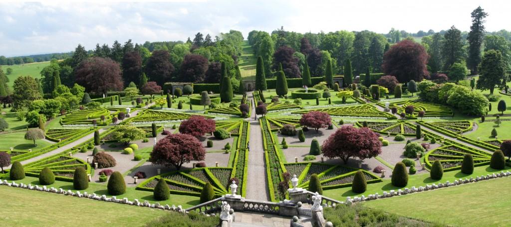 Drummond Castle Gardens | © Wikicommons