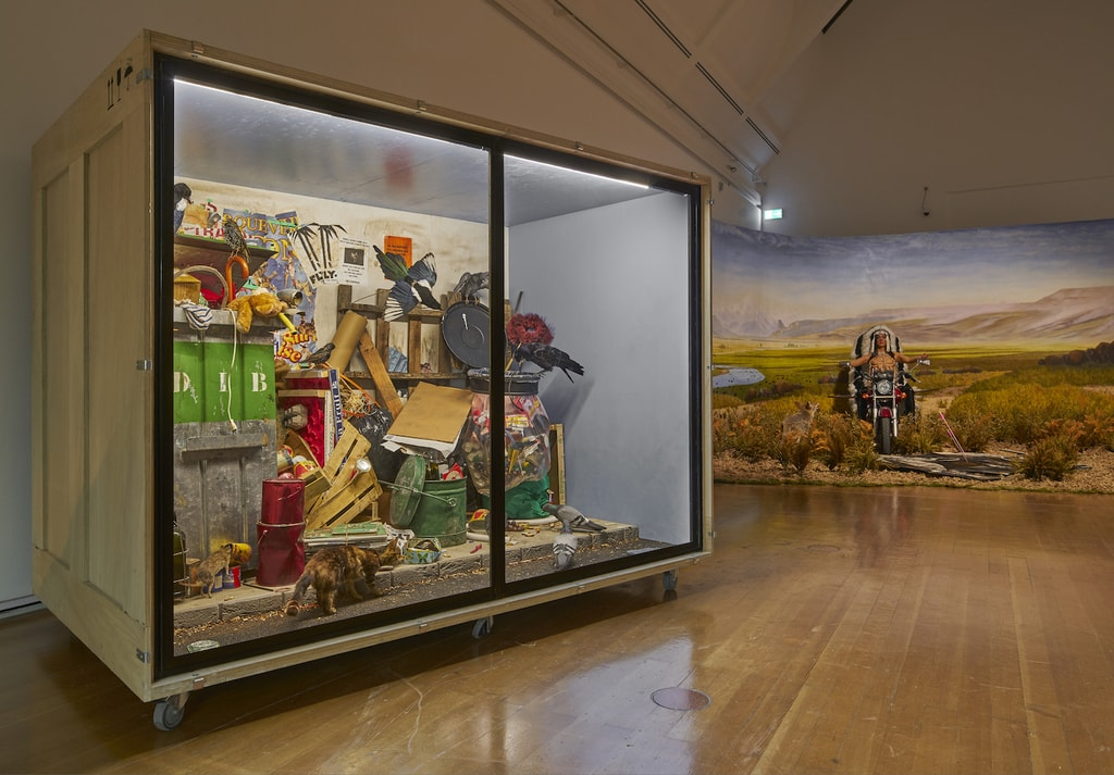 Exhibition view 'Diorama. Inventing Illusion', 2017   © Schirn Kunsthalle Frankfurt. Photo: Norbert Miguletz
