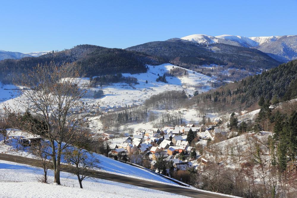 Hohrod, tourist village in the Vosges © LENS-68 / Shutterstock