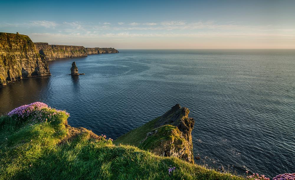 The Cliffs of Moher West coast of Ireland. © UTBP / Shutterstock