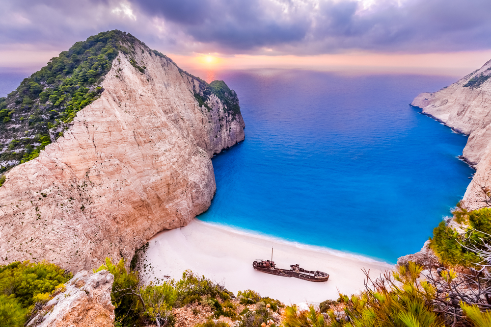 Navagio Beach at sunset | © turtix/Flickr