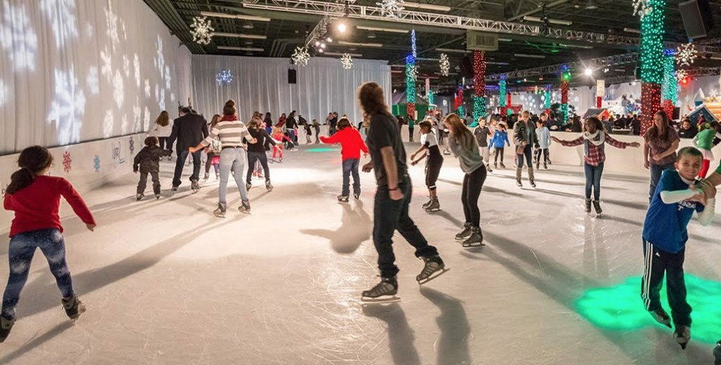 Ice Skaters at NOLAChristmasFest, courtesy of NOLAChristmasFest.