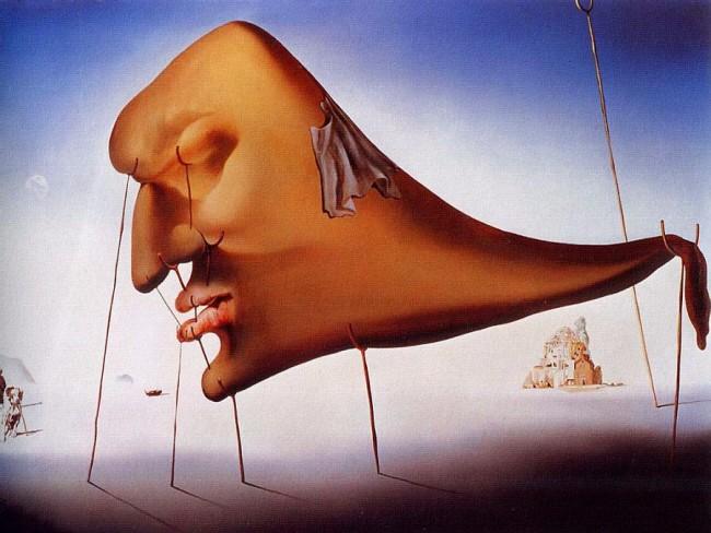 'Sleep', by Salvador Dalí (1937) | Courtesy of dalipaintings.com