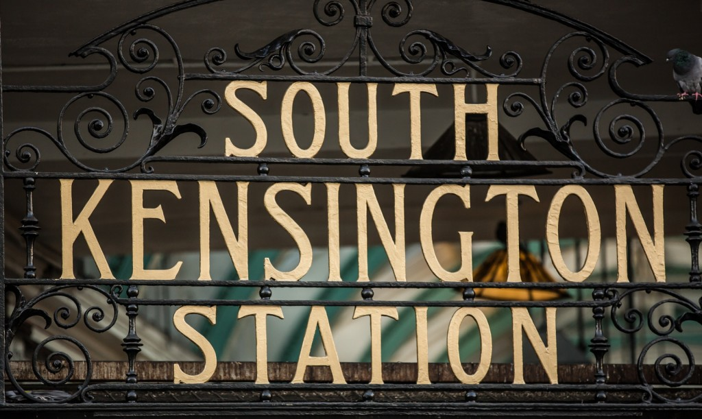 South Kensington tube station | © Iain Reid