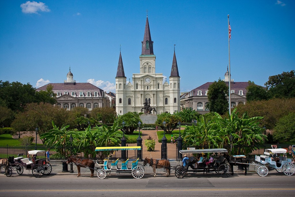 The Saint Louis Cathedral in Jackson Square | © Royalpt78/Wikicommons.