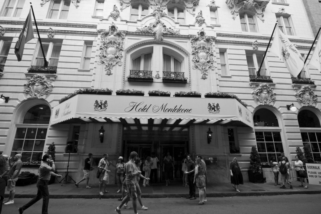 Hotel Monteleone entrance in the French Quarter | © Dan Silvers/WikiCommons.