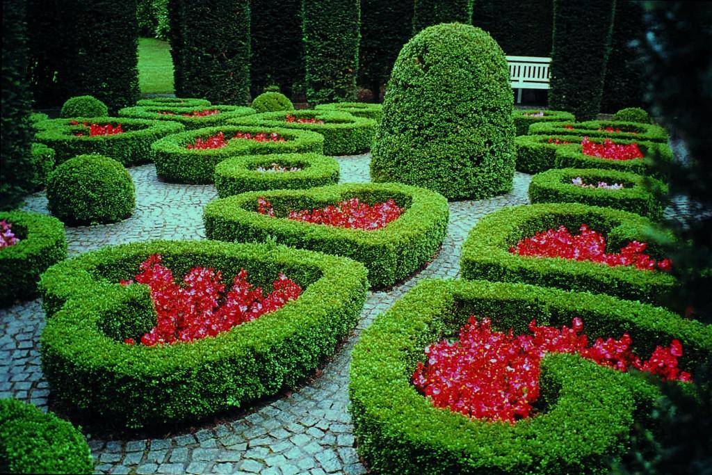 The 'Garden of Hearts' at the Van Buuren Museum | Courtesy of the Van Buuren Museum