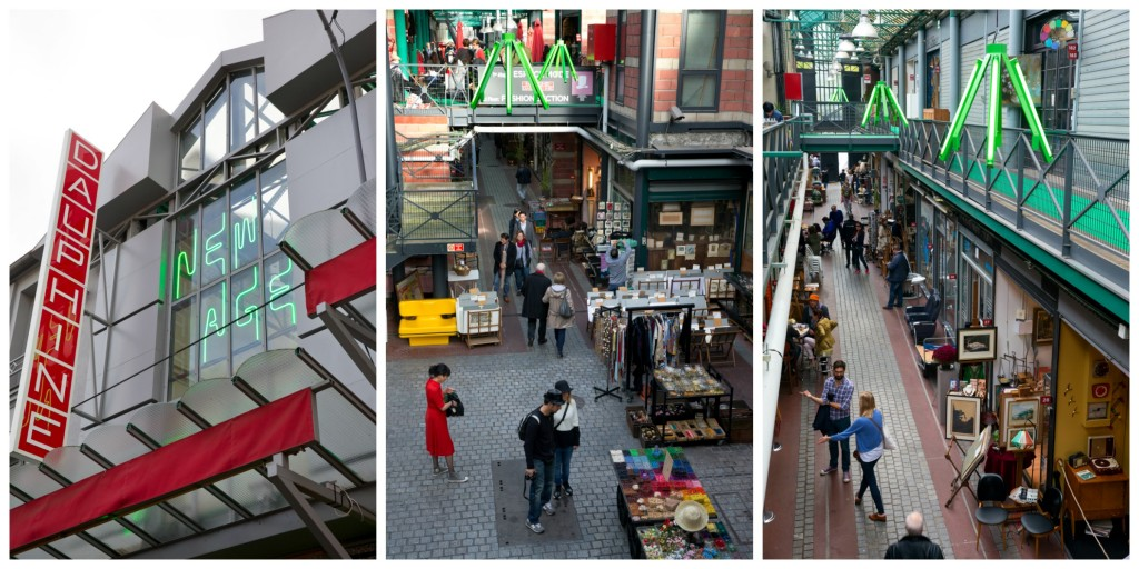 Three views of the Marché Dauphine │© jmpalisse, images courtesy of the Marché Dauphine