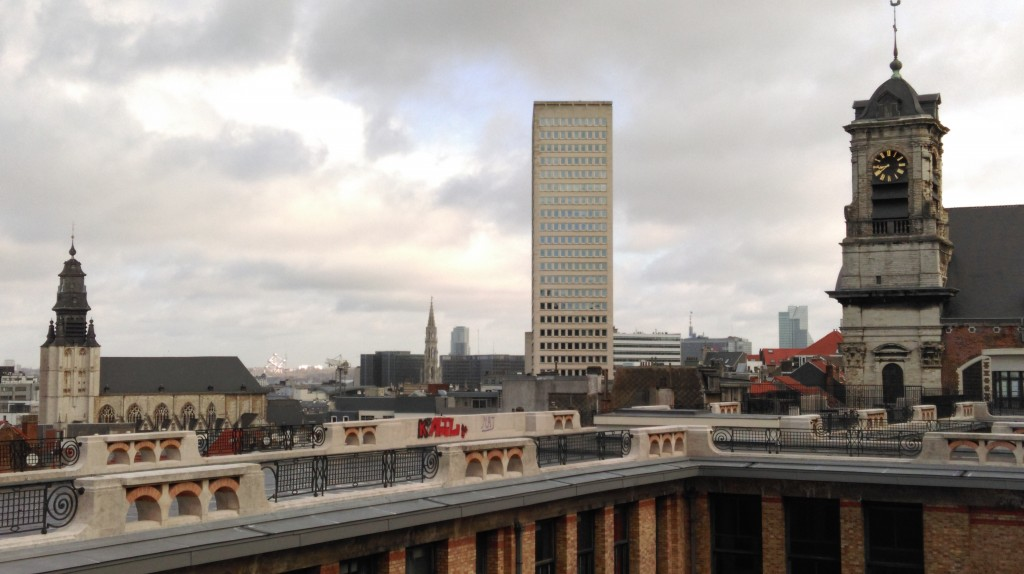 Brussels towers   © Laurent Vermeersch/courtesy of The City Geek