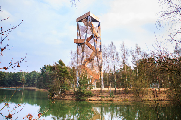 Lookout tower Lommel Sahara |© Stines/Wikimedia Commons