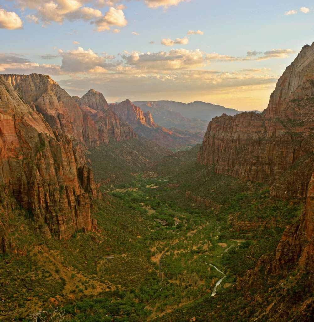 View from Angel's Landing (south) | © Diliff/WikiCommons