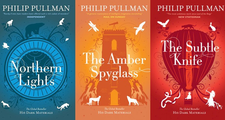 The His Dark Materials trilogy | Courtesy of Scholastic Publishing