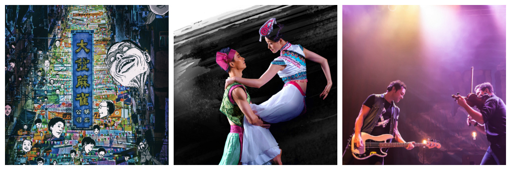 Junji Ito/Courtesy of PMQ | Kaleidoscope of Dance from Yunnan/Courtesy of HK Dance | Yellowcard/©Julie/Flickr