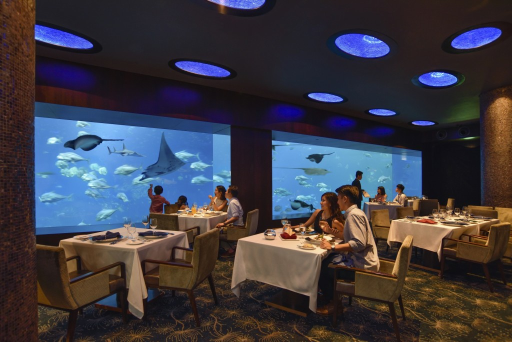 Open Ocean Tank | Courtesy of Ocean Restaurant by Cat Cora