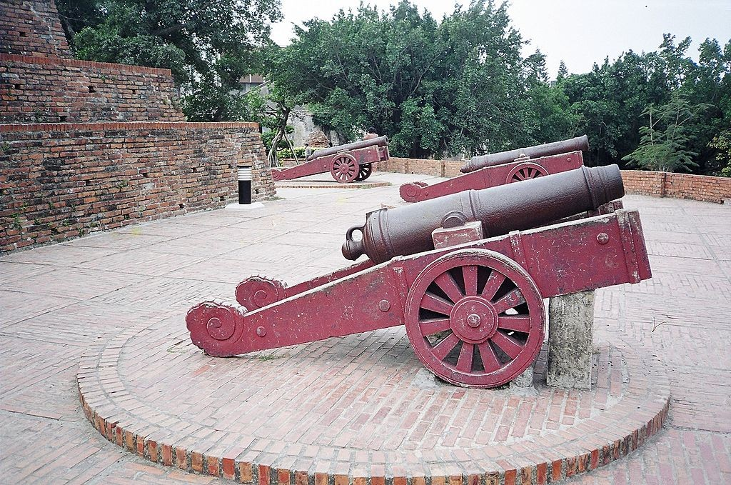 Cannons in historic Anping | © CT Snow /Wikimedia