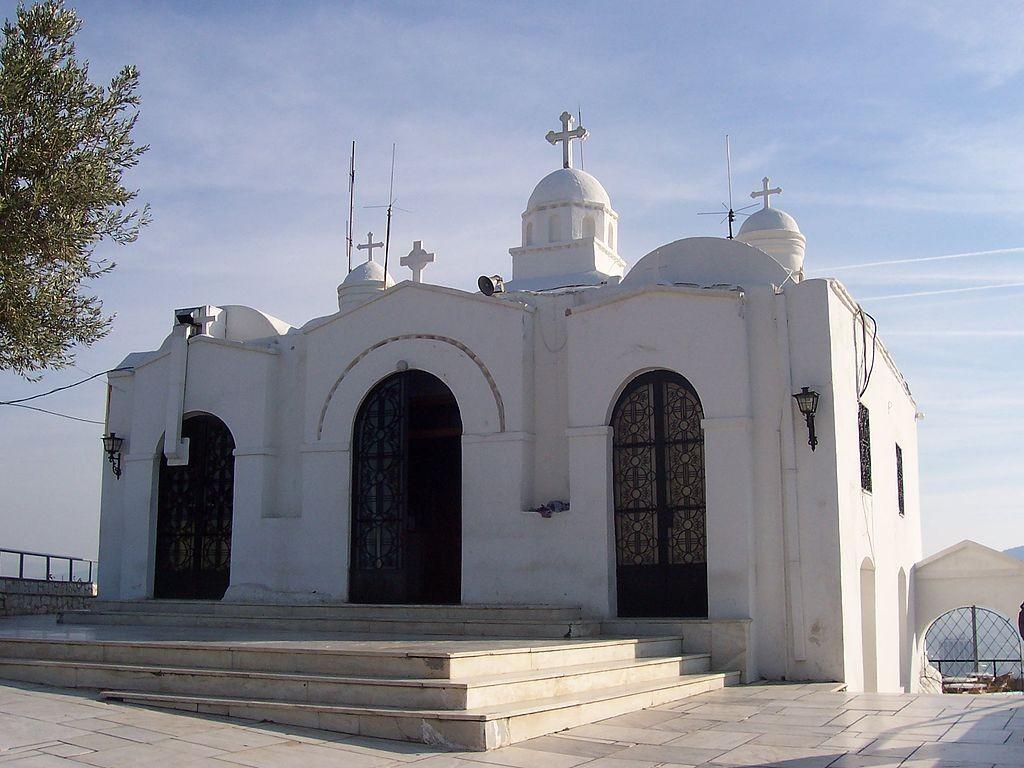 Small church on top of Lycabettus (Lykavitos) hill in Athens, Greece| © Křžut/WikiCommons