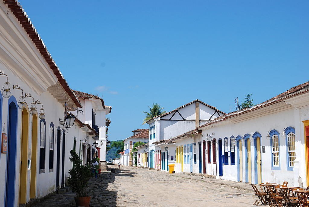 Colonial streets of Paraty |© Florian Höfer/WikiCommons