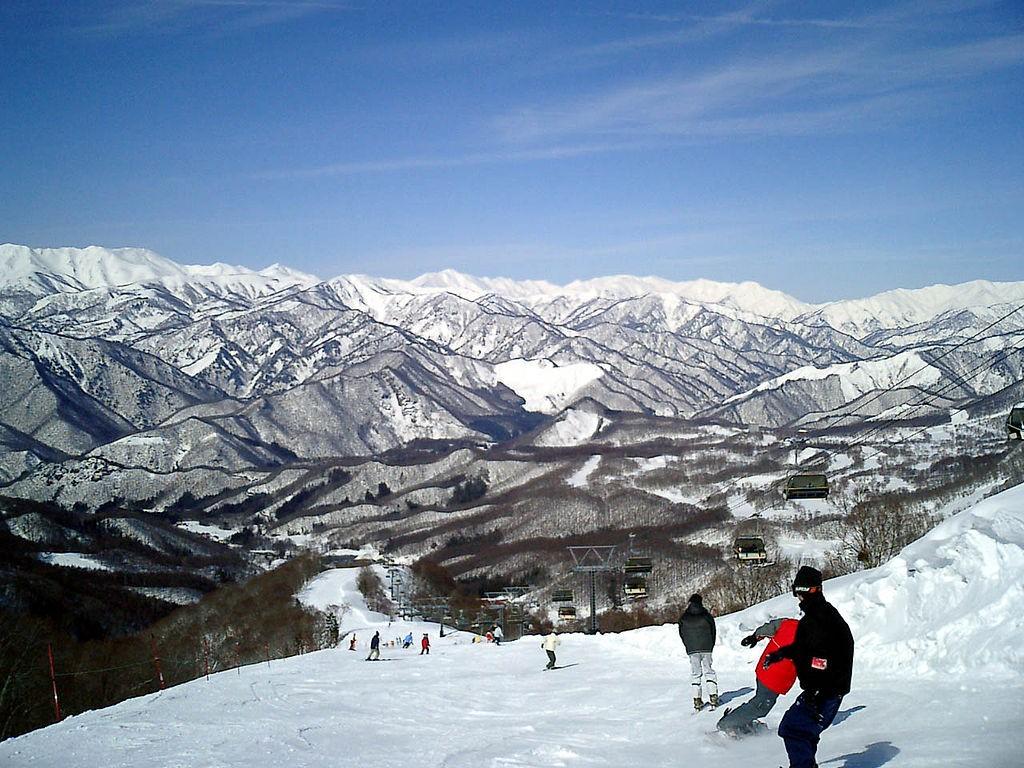 Adrenaline charged Minakami Hodaigi ski resort | © 自分/WikiCommons