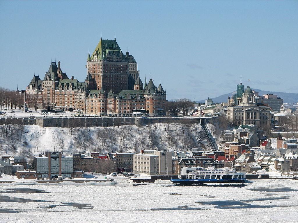 Château Frontenac, Québec   © Bernard Gagnon / Wikimedia Commons