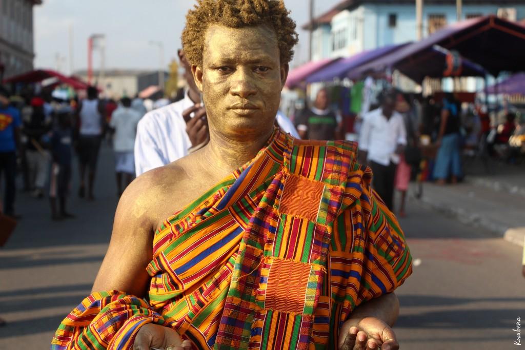 """Artist procession """"Gold"""" © Kwabena Akuamoah-Boateng"""