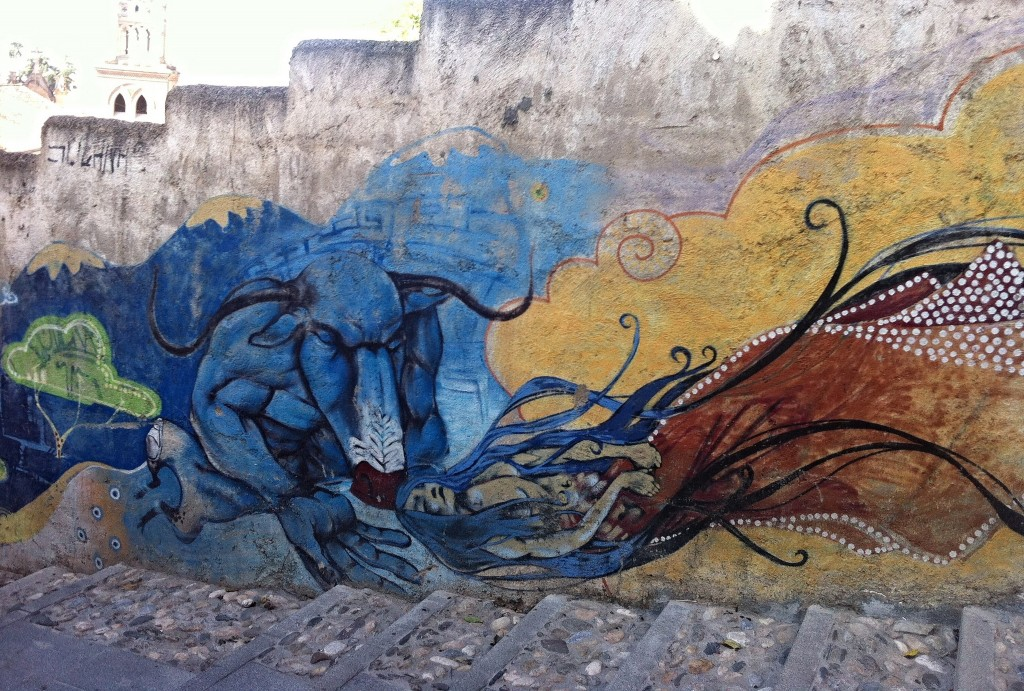 Street art in Granada: the city has always attracted artists. JeanneMenjoulet&Cie, flickr