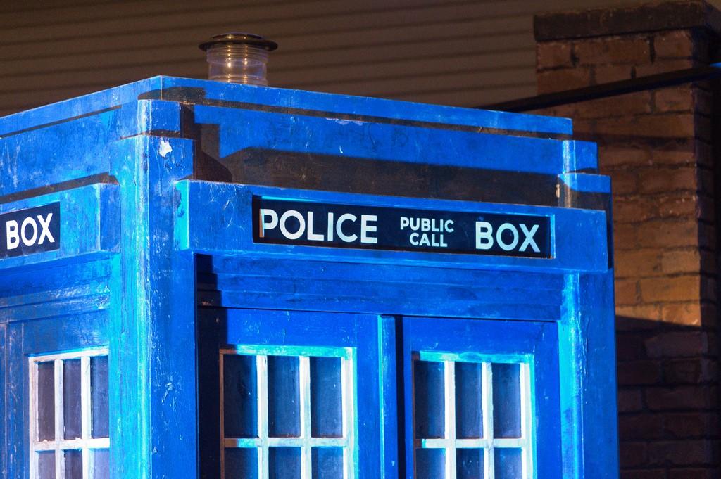 TARDIS | © mrgarethm/Flickr