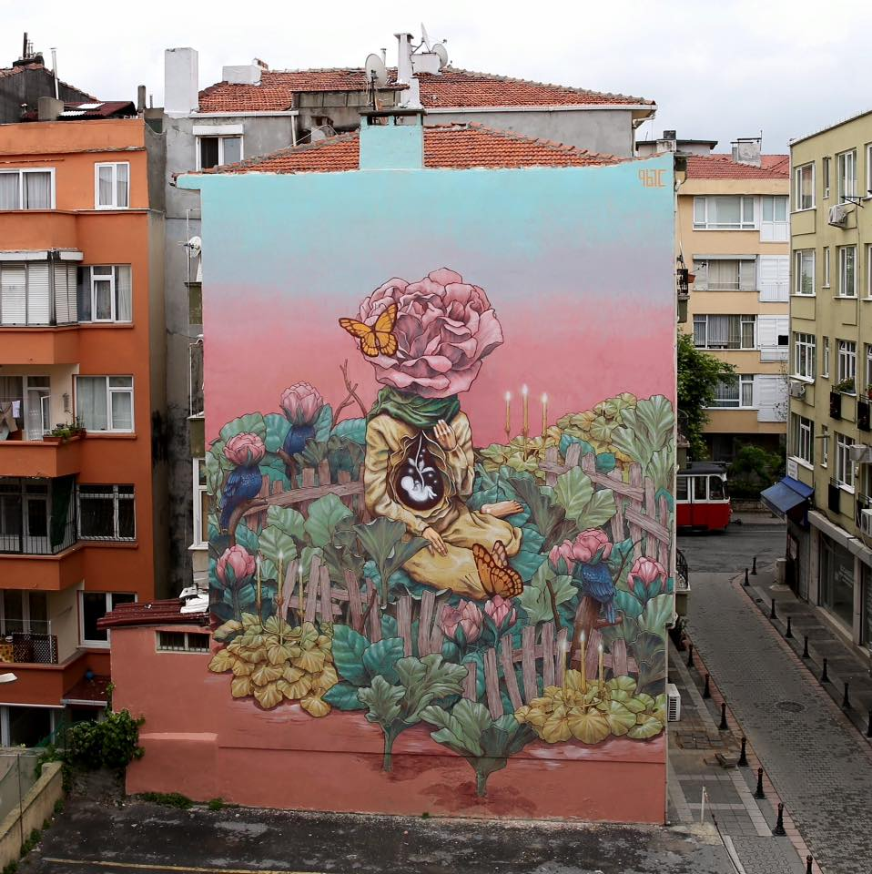 Istanbul's Yeldeğirmeni neighbourhood is famous for its street art | Courtesy of Mural Istanbul