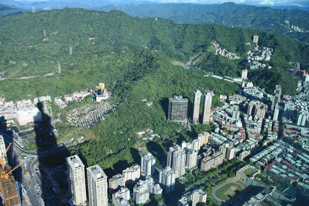 View of Elephant Mountain from Taipei 101 | © Lord Koxinga