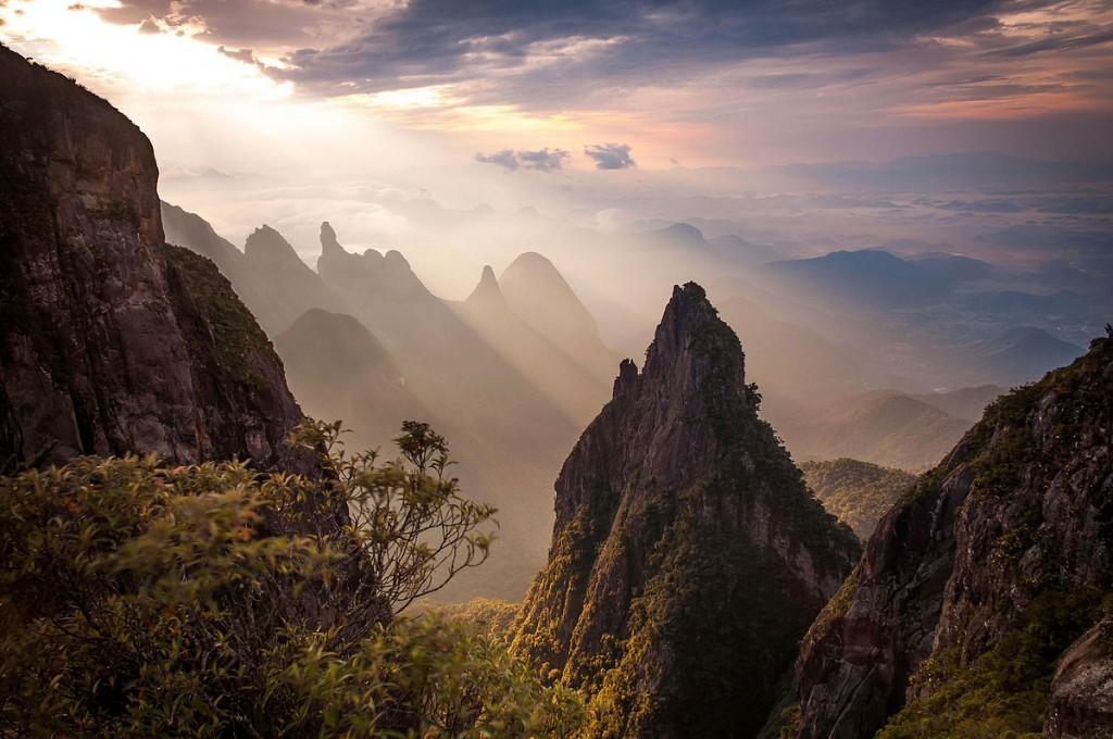 Serra dos Órgãos National Park in Rio de Janeiro state, Brazil / ©Carlos Perez Couto / Flickr