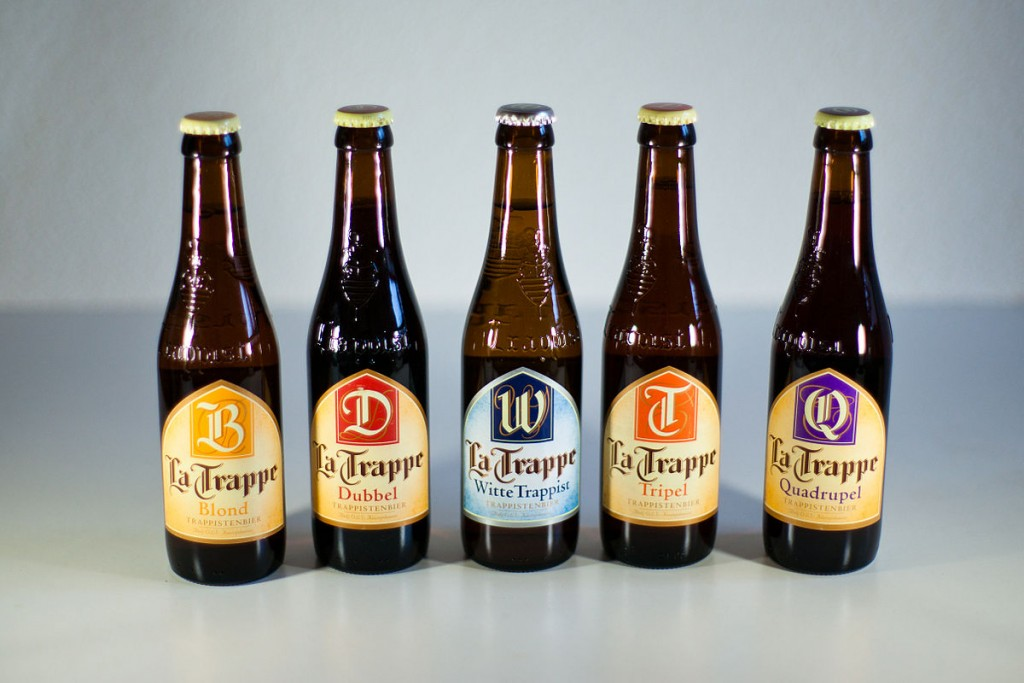 Beers from La Trappe brewery  ©Ludovic Péron/WikiCommons