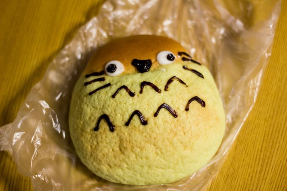 Totoro bread in Japan   © George Alexander Ishida Newman/Flickr