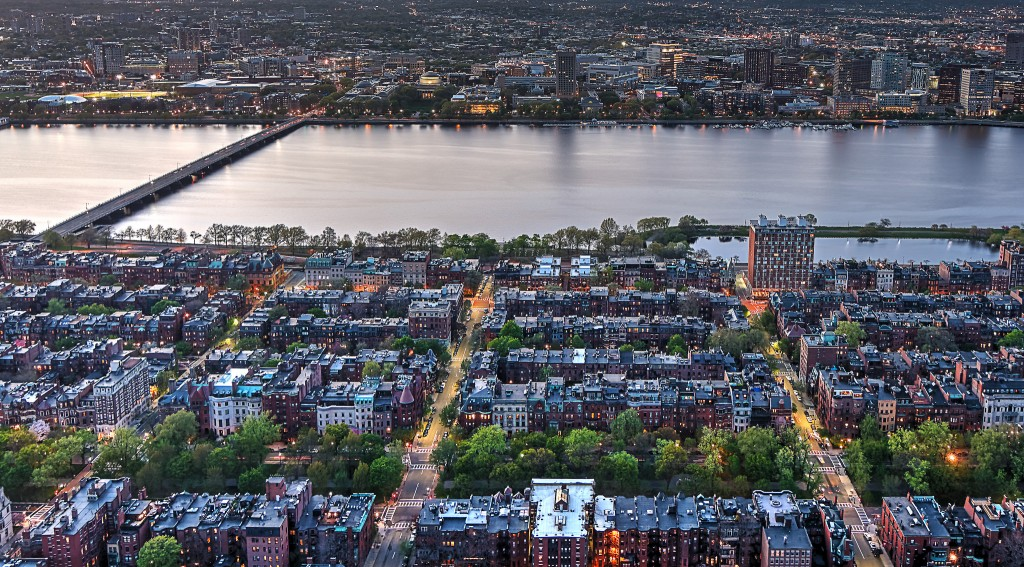 Skywalk View of Back Bay | © Bill Damon / Flickr