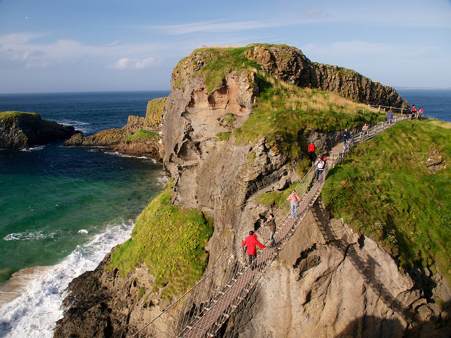 Carrick-a-Rede Rope Bridge | © Kanbron/ Flickr