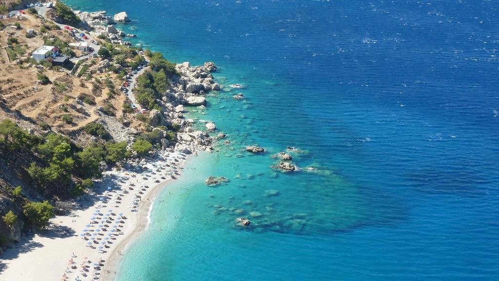 Apella beach, Karpathos, Greece | © Kostas Limitsios/Flickr