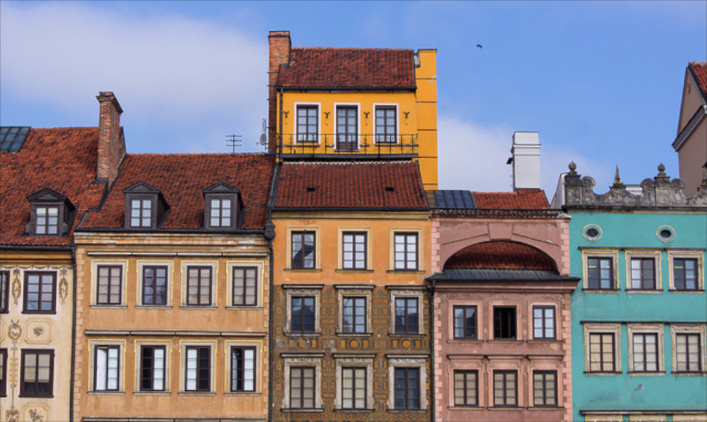 Old Town, Warsaw |© Guillaume Speurt / Flickr