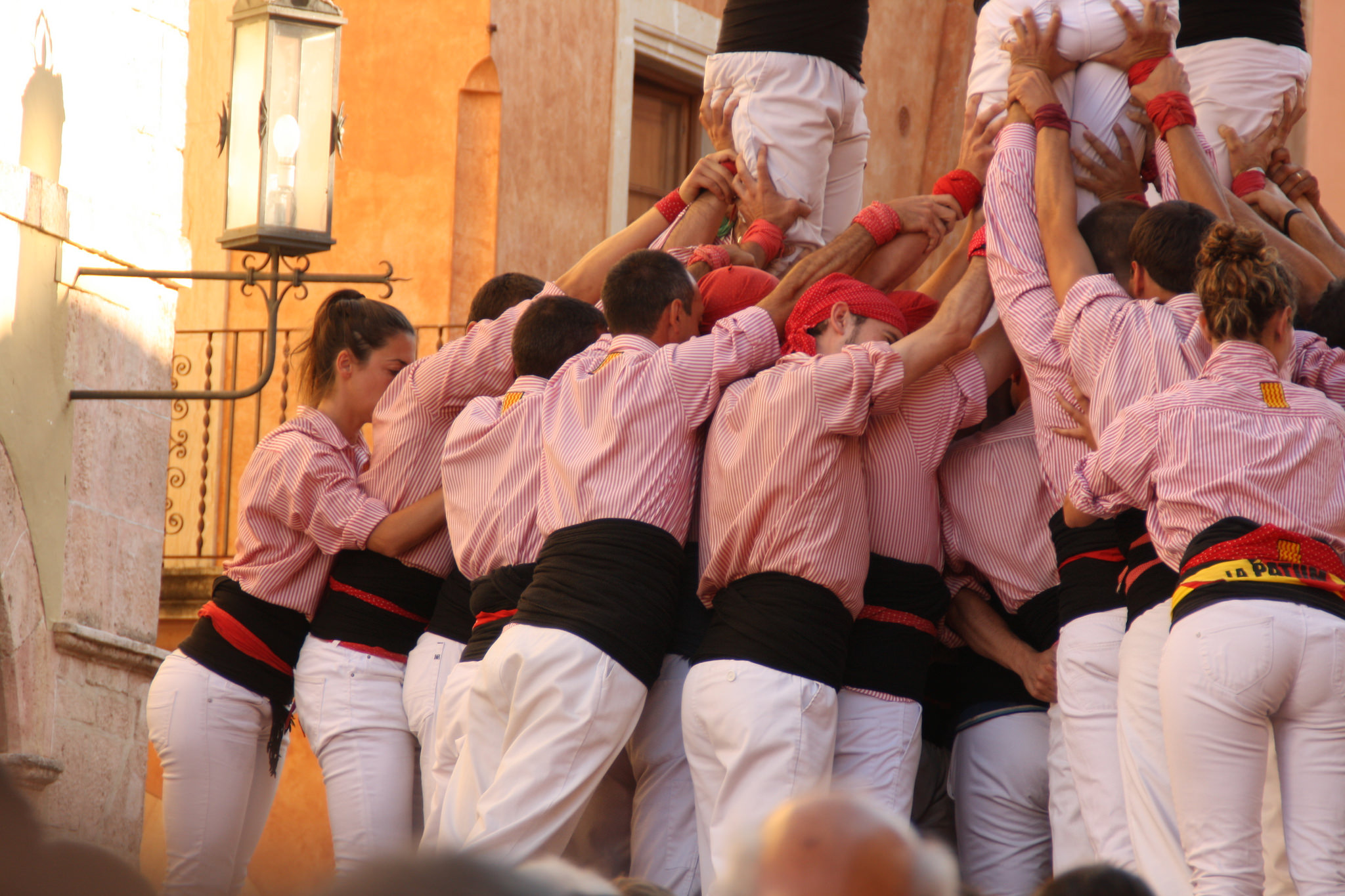The castellers | © Quim Perelló / Flickr